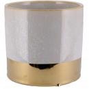 Keramik Kübel Vinas, D13,5cm, H12,5cm, für TO11, h
